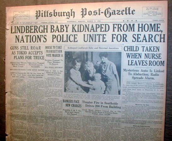 lindbergh baby kidnapping essay An essay or paper on kidnapping of the lindbergh baby on the evening of tuesday, march 1, 1936, between the hours of eight and ten thirty in the evening, a person or persons entered a nursury room in a home in hopewell, new jersey, and kidnapped a 20 month old toddler.