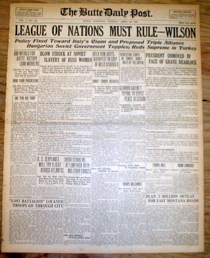 Image result for league nations headline