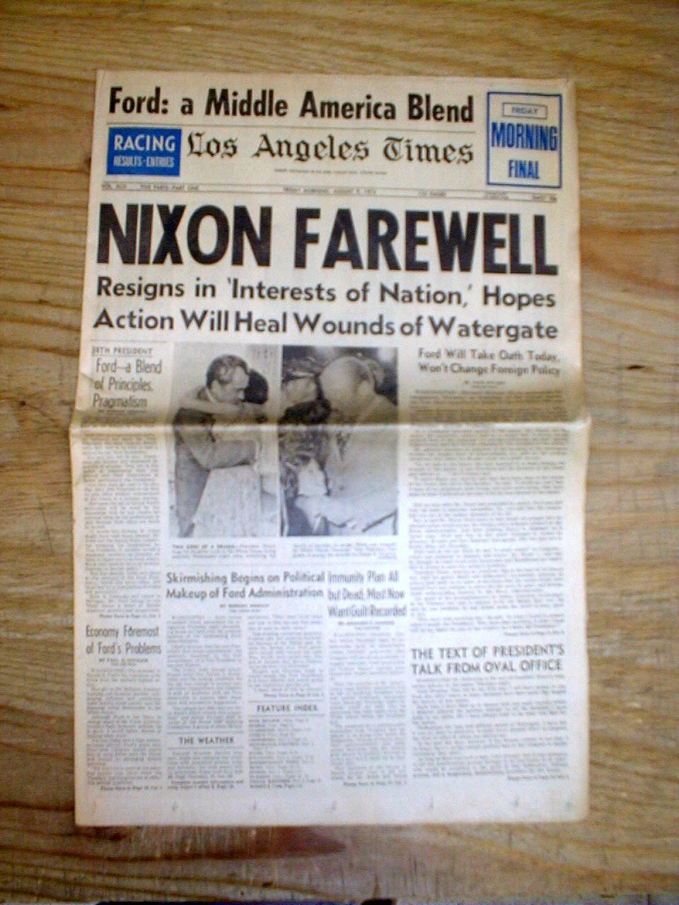 "a look into press coverage of the presidency in watergate scandal in united states ""any individual who objects to the press coverage of watergate is objecting to the american for the presidency of the united states we should look into."
