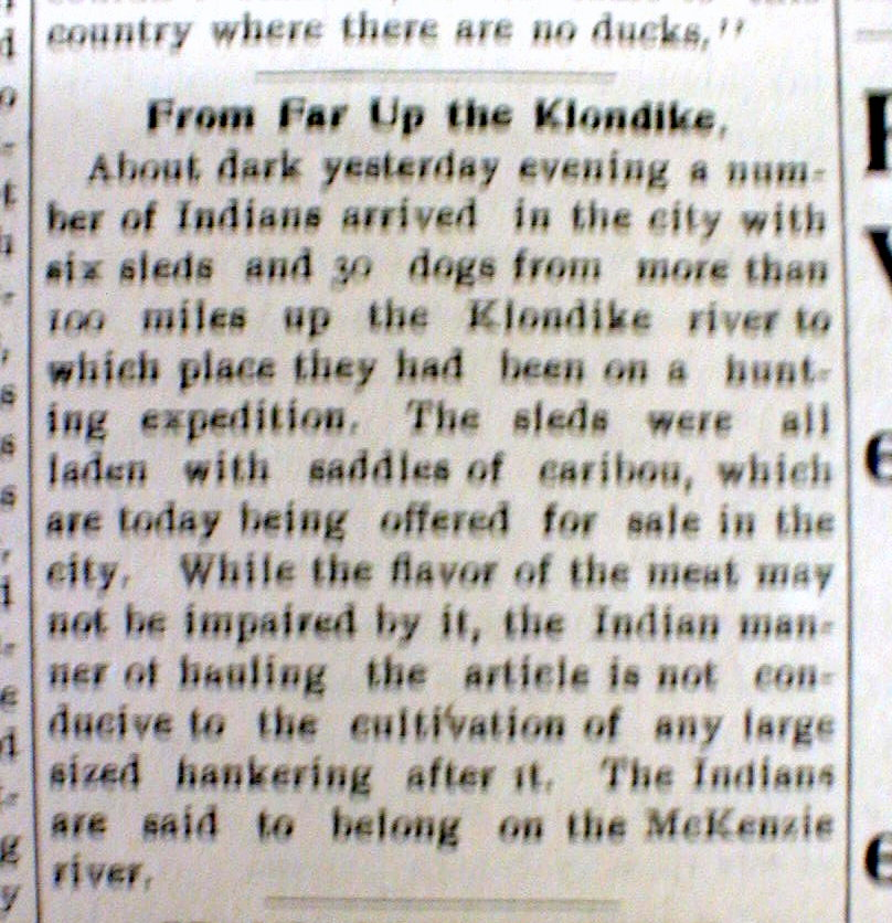 klondike goldrush essay Hello, so here's my story: our school came up with a great idea there will be one essay written about a topic, i picked the klondike gold rush.
