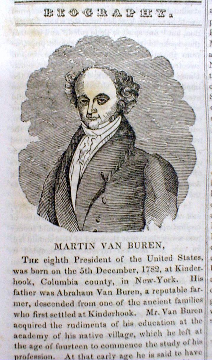 matin van buren biography essay Shortly upon president martin van buren's entry into martin van buren essays life in 2017 /president/biography/vanburen-life-after.