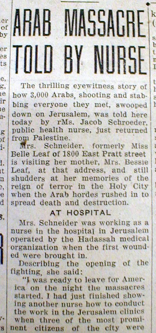 hebron massacre essay