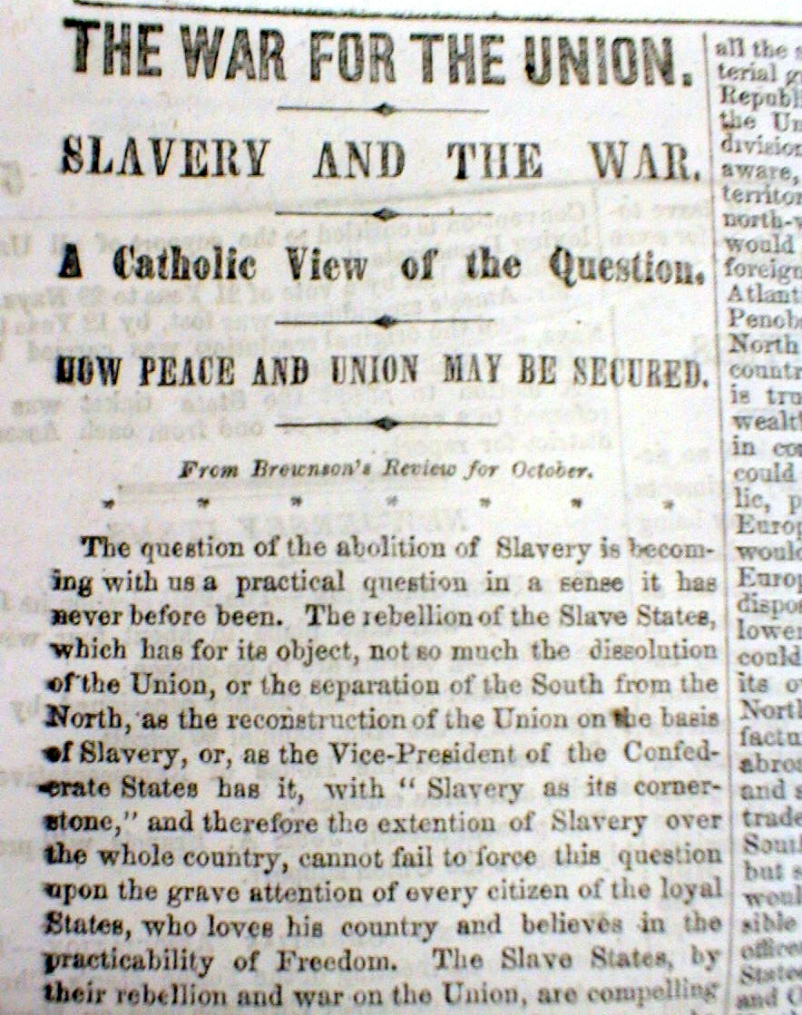 civil war inevitable or avoidable essay Was the civil war inevitable this was one of the most controversial arguments in american history personally, i think this war would happen sooner or later.