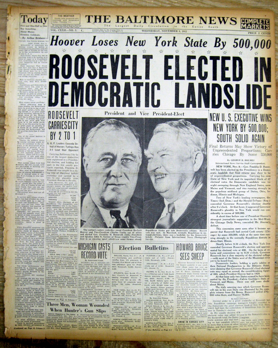 why did roosevelt win the election in 1932 essay Why did franklin d roosevelt win the 1932 presidential election by such a large margin.