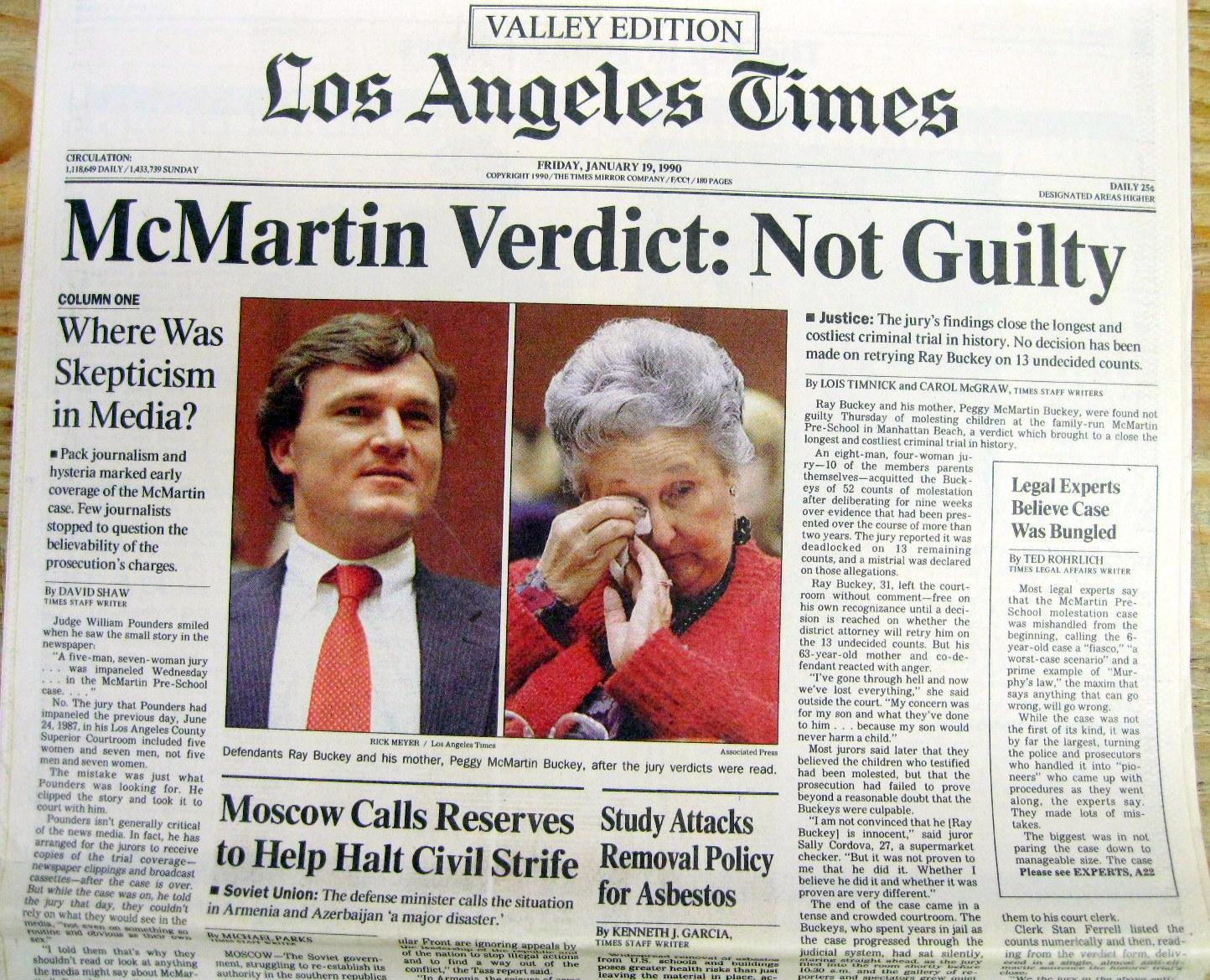 crucible and mcmartin trials