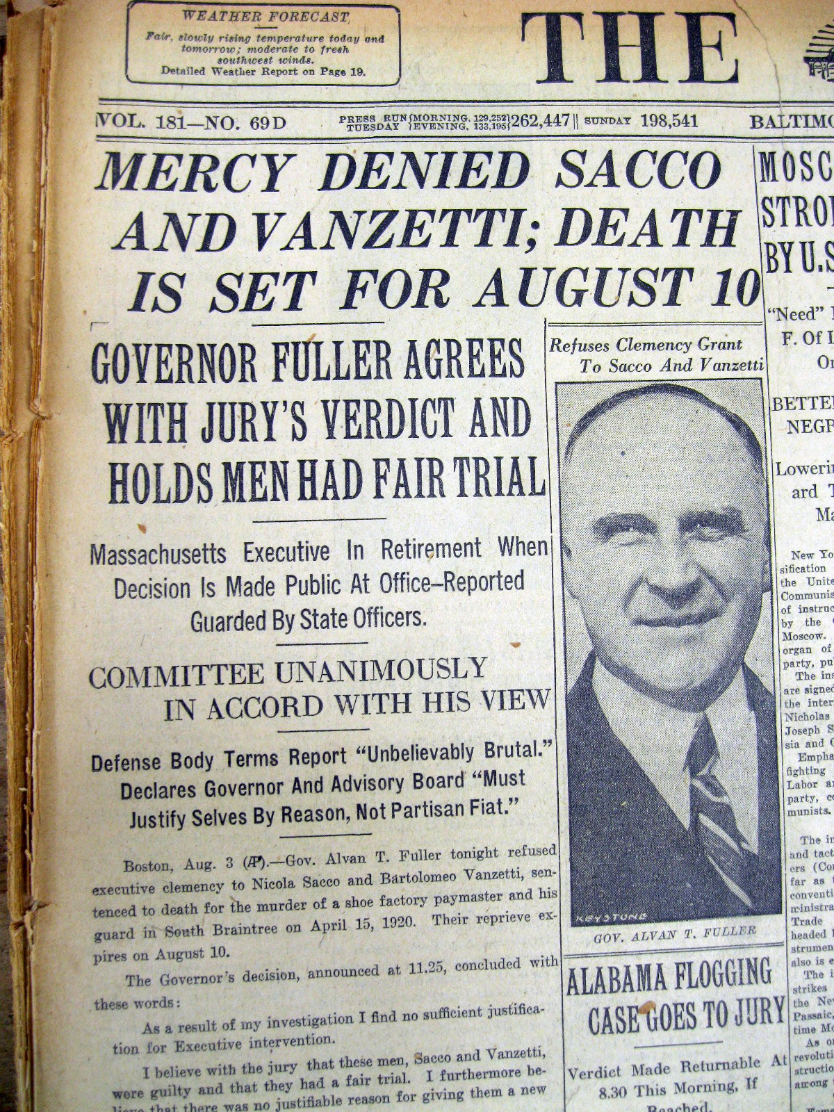 the sacco and vanzetti case essay Sacco and vanzetti film review: sacco please be sure to look on those files and follow the format before start writing the essay the sacco-vanzetti case.