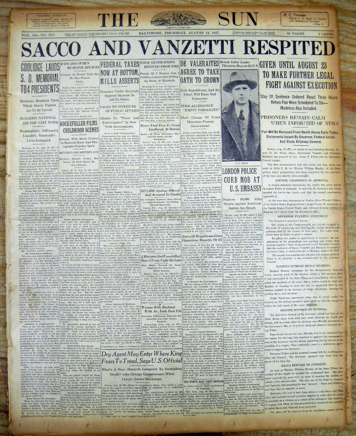 sacco and venzetti robbery and homicide essay In late 1925, a convicted bank robber, celestino madeiros, admitted to having participated in the murders, which provided the sacco and vanzetti backers with new hope other issues were raised, alleging improper actions by the police, perjury by witnesses and evidence of boston gang ties to the crime appeals to the.