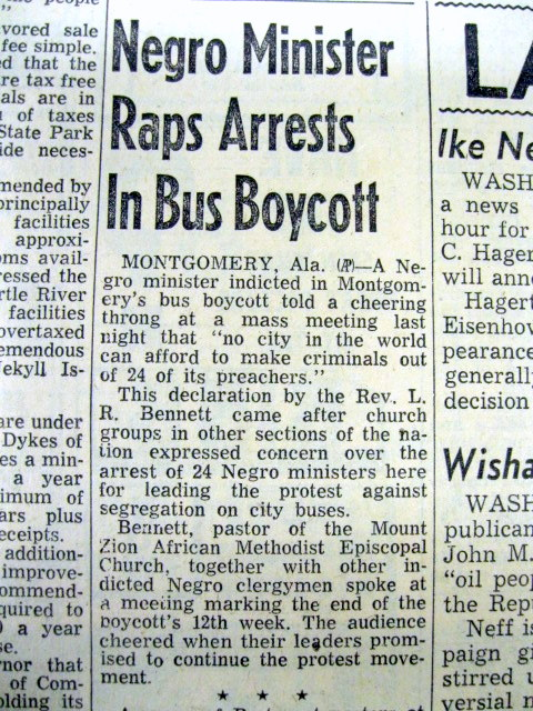 montgomery bus boycott essay paper Handout - handout - the montgomery bus boycott excellent site from the montgomery advertiser newspaper with biographies, an introductory video, timelines, interviews and contemporary newspaper headlines.