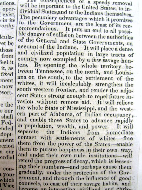 indian removal act 3 essay Students will decide whether andrew jackson should have been impeached for  the indian removal act this includes thesis question, rubric, chart to divide.