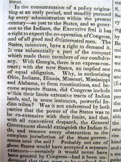 andrew jackson indian removeal policy Title length color rating : indian removal policy of 1830 - president andrew jackson wanted the white settlers from the south to expand owning land from five indian tribes, which was called indian removal policy (mcnamara) the five indian tribes that were affected were choctaws, muskogee, chickasaws, cherokees, and the seminoles.