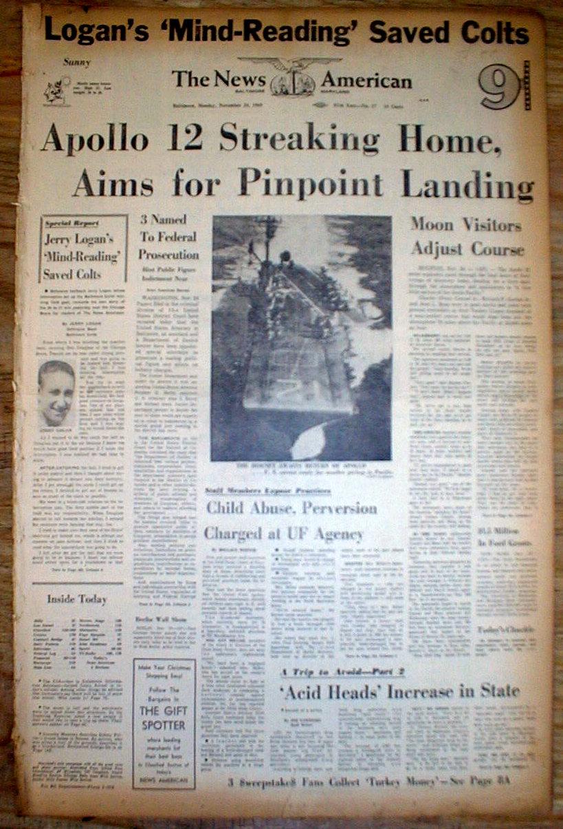 1969 newspaper moon mission - photo #29